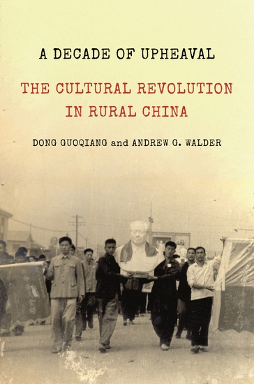 A Decade of Upheaval - The Cultural Revolution in Rural China - cover