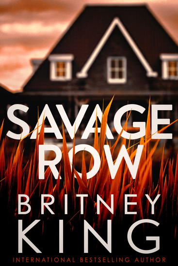 Savage Row - A Psychological Thriller - cover