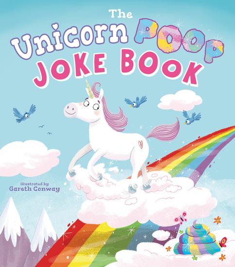 The Unicorn Poop Joke Book - cover