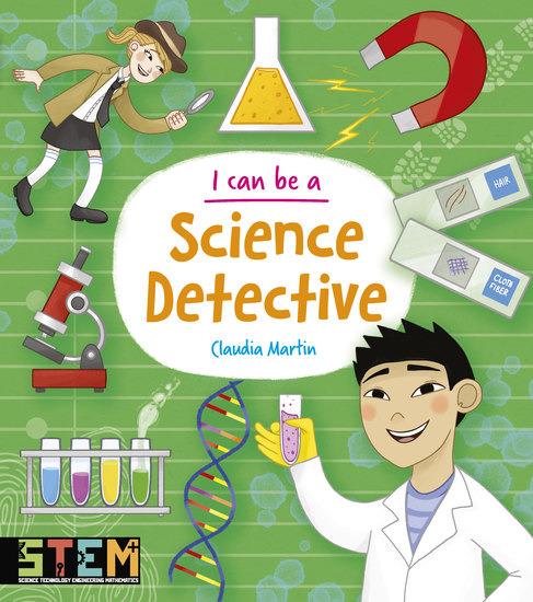I Can Be a Science Detective - cover