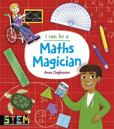 I Can Be a Maths Magician - cover