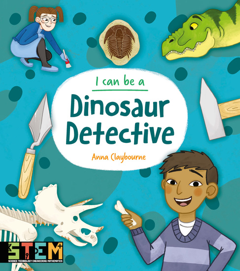 I Can Be a Dinosaur Detective - cover
