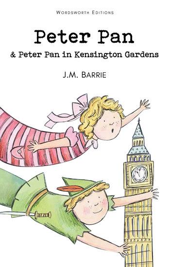 Peter Pan & Peter Pan in Kensington Gardens - cover