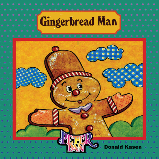 Gingerbread Man - cover