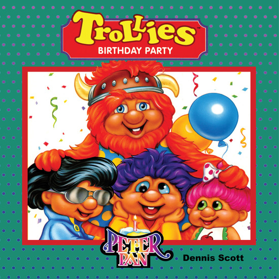 Trollies Birthday Party - cover