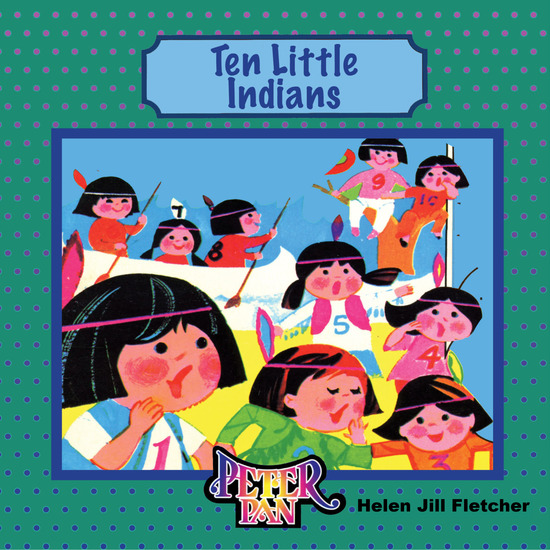 Ten Little Indians: The Counting Song and a Counting Book - cover
