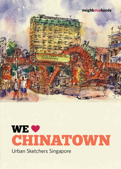 We Love Chinatown - cover