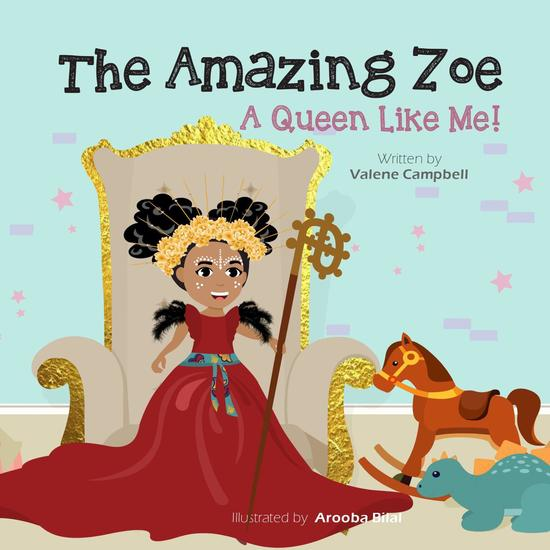 A Queen Like Me! - The Amazing Zoe #2 - cover