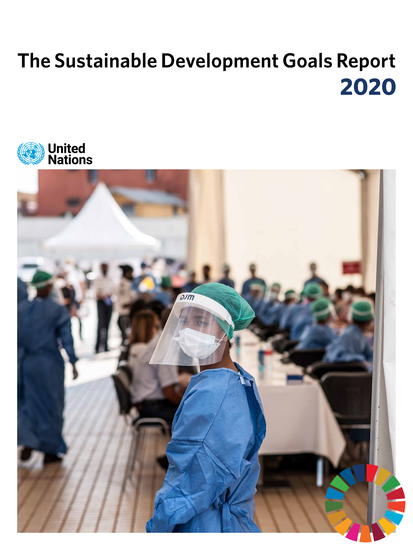 The Sustainable Development Goals Report 2020 - cover
