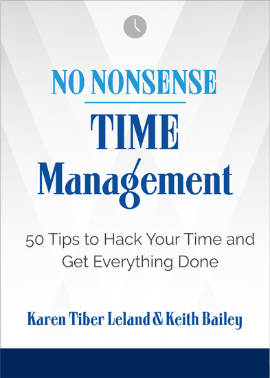 No Nonsense: Time Management - 50 Tips to Hack Your Time and Get Everything Done - cover
