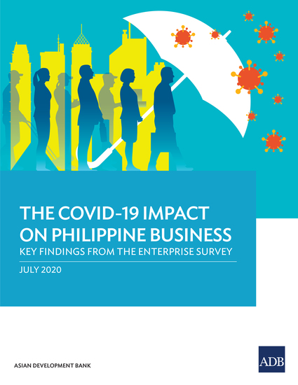 The COVID-19 Impact on Philippine Business - Key Findings from the Enterprise Survey - cover