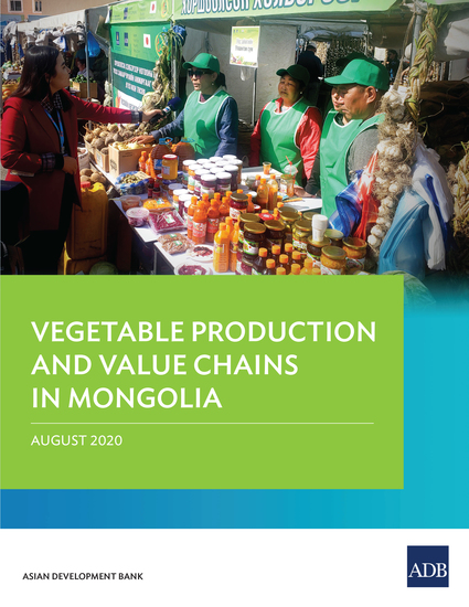Vegetable Production and Value Chains in Mongolia - cover