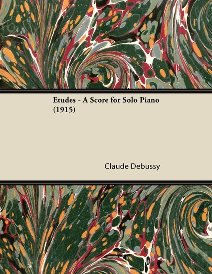Etudes - A Score for Solo Piano (1915) - cover