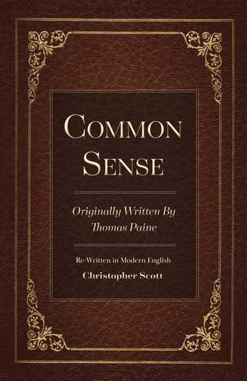 Common Sense - Originally Written By Thomas Paine - cover