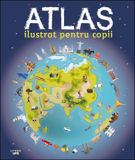 Atlas ilustrat pentru copii - cover