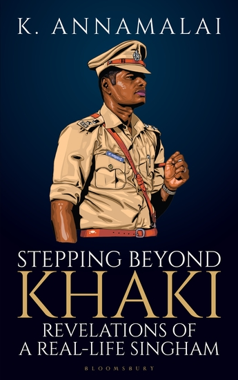Stepping Beyond Khaki - Revelations of a Real-Life Singham - cover