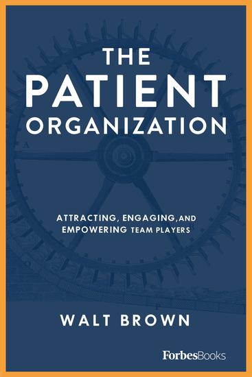 The Patient Organization - An Introduction to the 7 Question 7 Promise Momentum Framework - cover