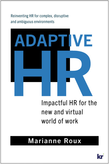 Adaptive HR - Impactful HR for the New and Virtual World of Work - cover