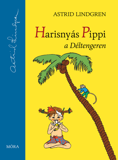 Harisnyás Pippi a Déltengeren - cover