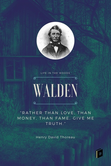 Walden - Life in the Woods - cover