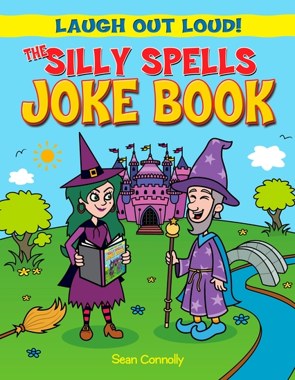 The Silly Spells Joke Book - cover