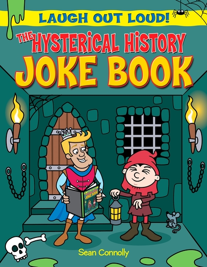 The Hysterical History Joke Book - cover