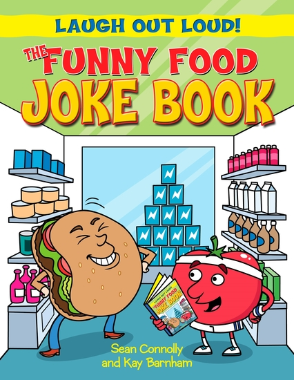 The Funny Food Joke Book - cover