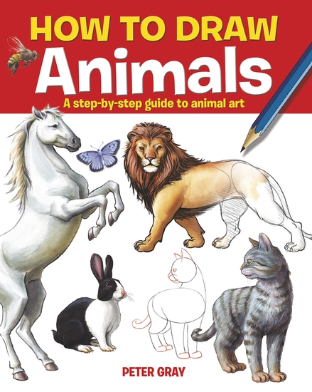 How to Draw Animals - A step-by-step guide to animal art - cover