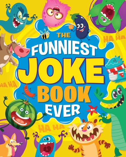The Funniest Joke Book Ever - cover