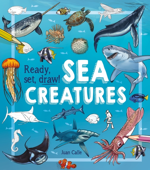 Ready Set Draw! Sea Creatures - cover