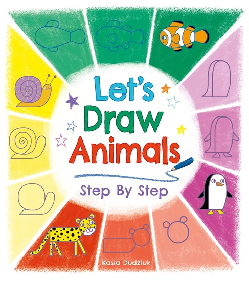 Let's Draw Animals Step By Step - cover