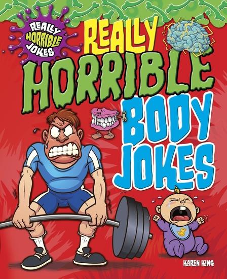 Really Horrible Body Jokes - cover