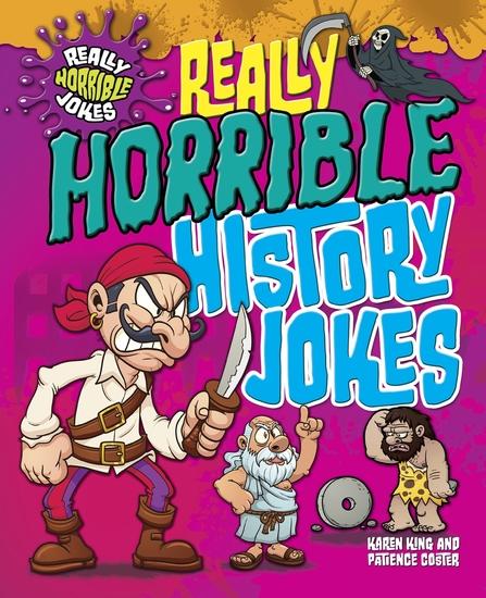 Really Horrible History Jokes - cover