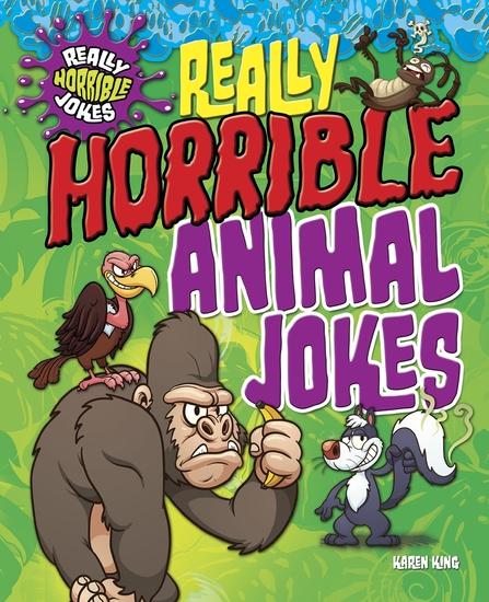 Really Horrible Animal Jokes - cover