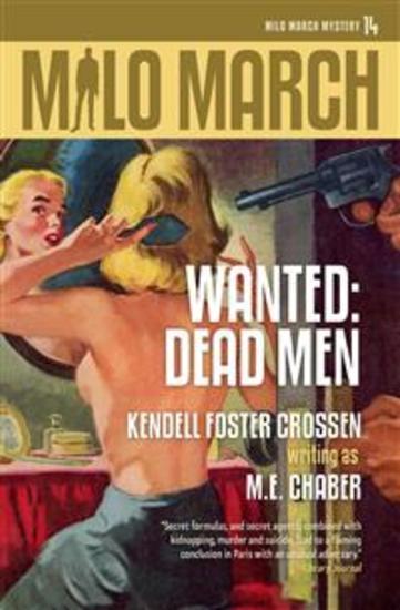 Milo March #14 - Wanted: Dead Men - cover