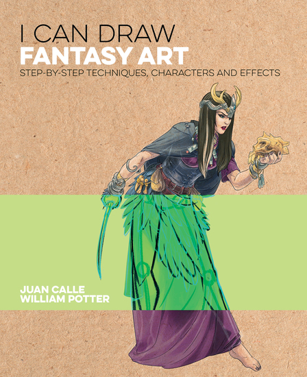 I Can Draw Fantasy Art - Step by step techniques characters and effects - cover