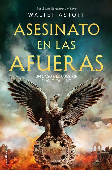Asesinato en las afueras - Un caso del cuestor Flavio Callido - cover