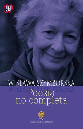 Poesía no completa - cover