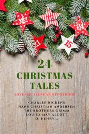 24 Christmas Tales - Advent Calendar Storybook - cover