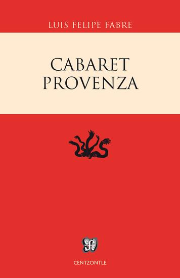 Cabaret Provenza - cover