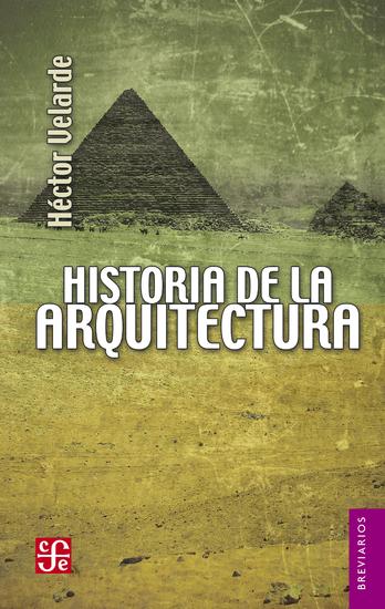 Historia de la arquitectura - cover
