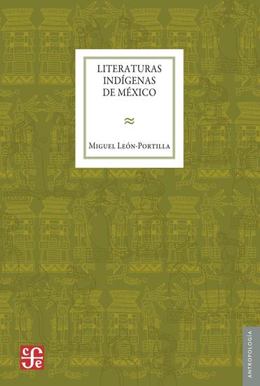Literaturas indígenas de México - cover