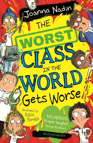 The Worst Class in the World Gets Worse - cover