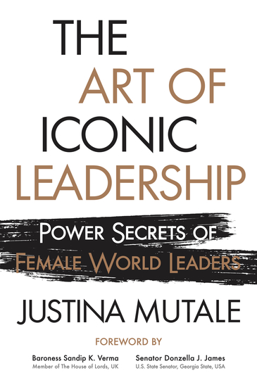 The Art of Iconic Leadership - Power Secrets of Female World Leaders - cover