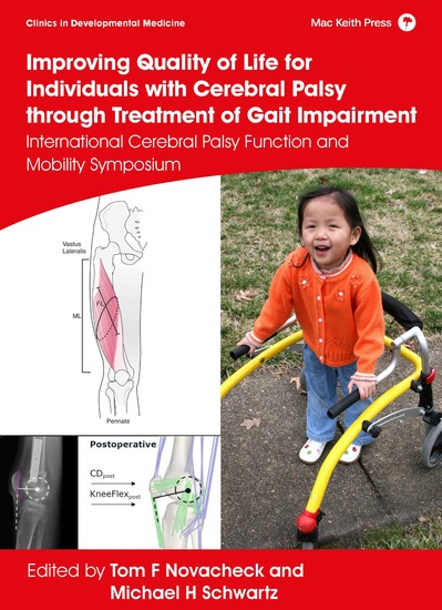Improving Quality of Life for Individuals with Cerebral Palsy through treatment of Gait Impairment - International Cerebral Palsy Function and Mobility Symposium - cover