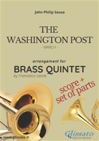 The Washington Post - Brass Quintet score & parts - March - cover