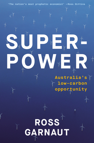 Superpower - Australia's Low-Carbon Opportunity - cover