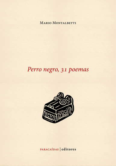 Perro negro 31 poemas - cover