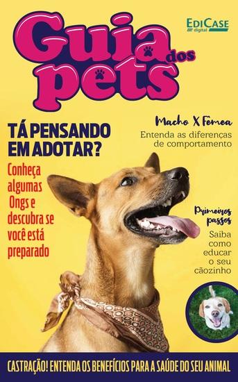Guia Dos Pets Ed 03 - Tá Pensando Em Adotar? - cover