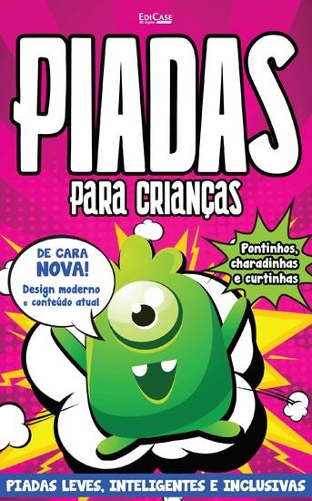 Piadas Para Crianças Ed 34 - Piadas leves Inteligentes e Inclusivas - cover